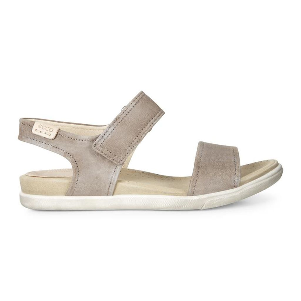 5dda34bc81cb Womens ECCO Damara Strap Sandals Shoes Light Grey Size ( US 4 4.5-12 12.5 )  963PJFOI