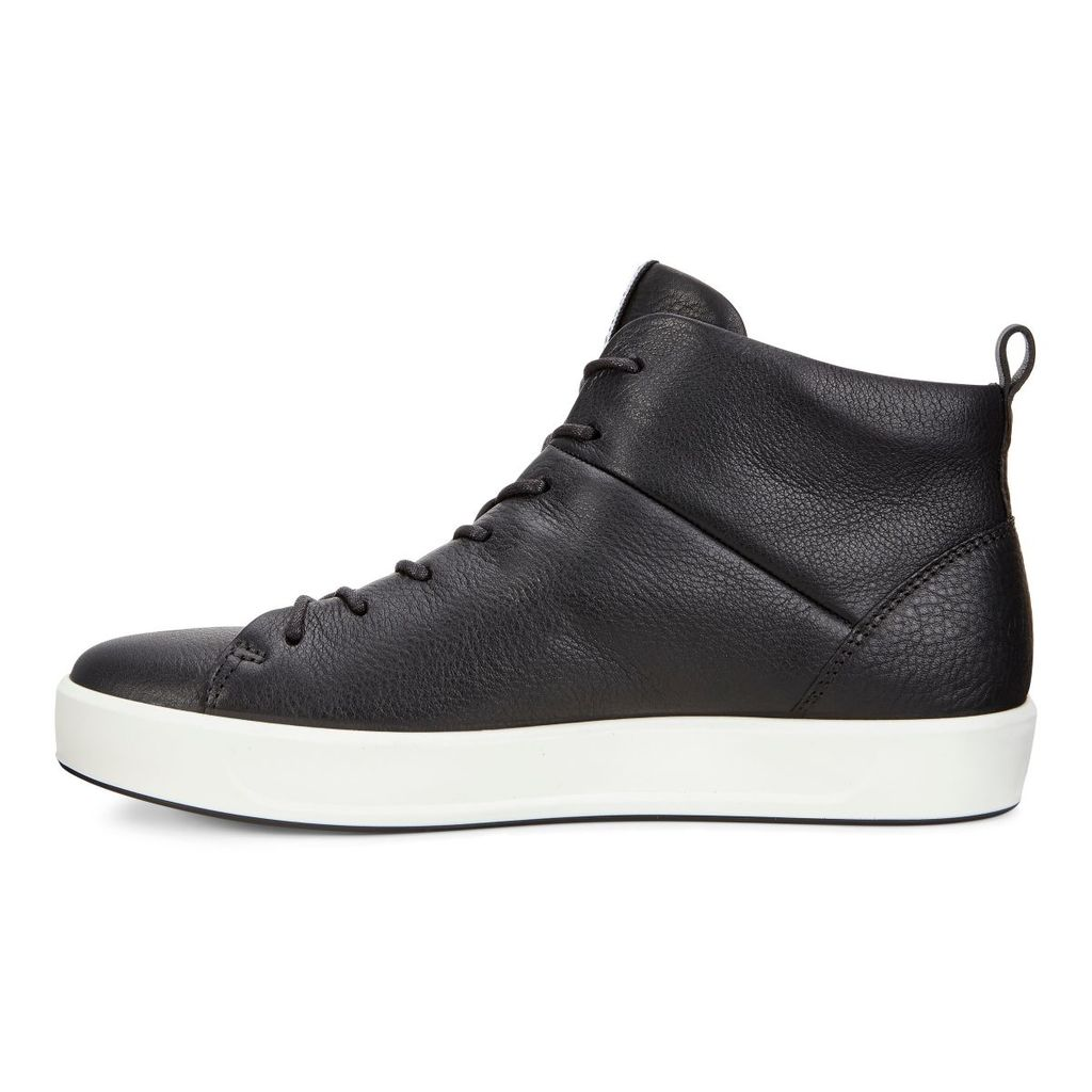 dedfdbb55a337 Womens ECCO Wmns Soft 8 High Top Best Price - Cheap Sneakers Shoes ...