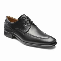 Mens ECCO Cairo Apron Toe Tie Dress Shoes Black Size ( US 5/5.5-16/16.5 ) 591TLNIB