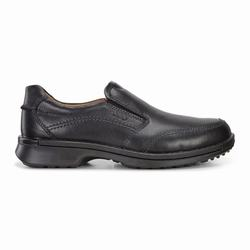Mens ECCO Fusion II Slip On Casual Shoes Black Size ( US 5/5.5-16/16.5 ) 916SRXQA