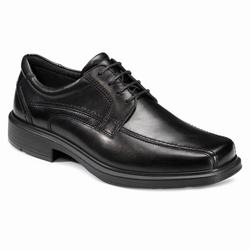 Mens ECCO Helsinki Bike Toe Tie Dress Shoes Black Size ( US 5/5.5-16/16.5 ) 933RSFAW