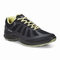 Womens ECCO BIOM Fjuel Racer Sneakers Shoes Black Size ( US 4/4.5-12/12.5 ) 388TRHQJ