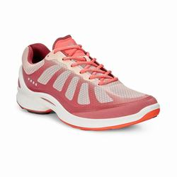 Womens ECCO BIOM Fjuel Racer Sneakers Shoes Rose / Coral Size ( US 4/4.5-12/12.5 ) 449UJZIS