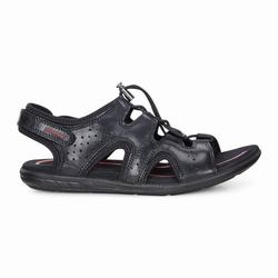 Womens ECCO Bluma Toggle Sandals Shoes Black Size ( US 4/4.5-12/12.5 ) 521OZXPE