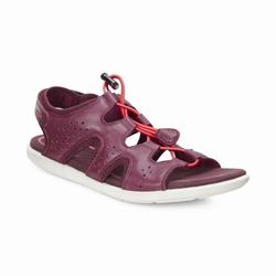 Womens ECCO Bluma Toggle Sandals Shoes Dark Purple Size ( US 4/4.5-12/12.5 ) 866CUEVL