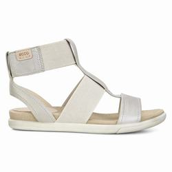 Womens ECCO Damara Ankle Strap Sandals Shoes Beige Size ( US 4/4.5-12/12.5 ) 583RXMDE