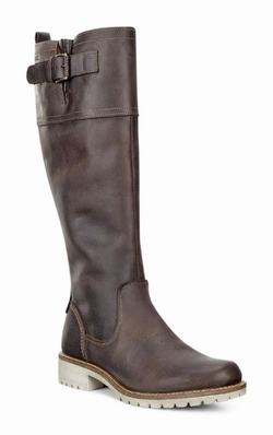Womens ECCO Elaine Tall Buckle Tall Boots Coffee Size ( US 4/4.5-12/12.5 ) 564WHLKC
