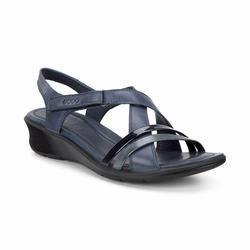 Womens ECCO Felicia Sandals Shoes Black Size ( US 4/4.5-12/12.5 ) 887UDIFO