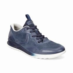 Womens ECCO Genna Sneakers Shoes Dark Blue Size ( US 4/4.5-12/12.5 ) 324ZXDGK
