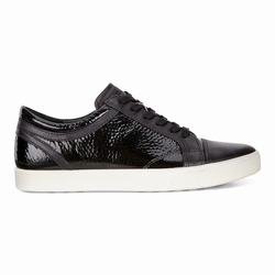 Womens ECCO Gillian Sneakers Shoes Black Size ( US 4/4.5-12/12.5 ) 784MBJSP