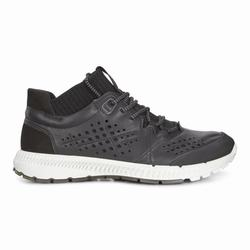 Womens ECCO Intrinsic TR Mid Sneakers Shoes Black Size ( US 4/4.5-12/12.5 ) 664YPJLB
