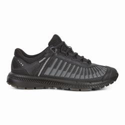 Womens ECCO Intrinsic TR Run Sneakers Shoes Black Size ( US 4/4.5-12/12.5 ) 564BVETI