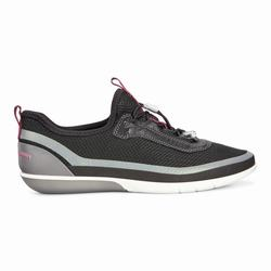 Womens ECCO Sense Light Toggle Sneakers Shoes Black Size ( US 4/4.5-12/12.5 ) 973ZENAI
