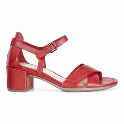 Womens ECCO Shape 35 Block Sandals Shoes Red Size ( US 4/4.5-12/12.5 ) 830HYCVF