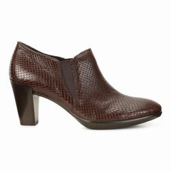 Womens ECCO Shape 55 Plateau Stack Dress Shoes Coffee Size ( US 4/4.5-12/12.5 ) 983ICYJW