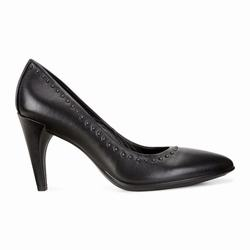 Womens ECCO Shape 75 Rivet Pump Dress Shoes Black Size ( US 4/4.5-12/12.5 ) 417UHMSZ