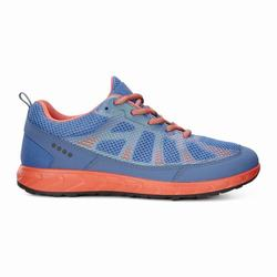 Womens ECCO Terratrail Sneakers Shoes Coral Size ( US 4/4.5-12/12.5 ) 509BRFUX