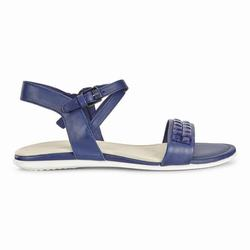 Womens ECCO Touch Embellished Sandals Shoes Royal Blue Size ( US 4/4.5-12/12.5 ) 329FRITX