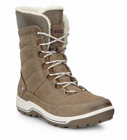 Womens ECCO Trace Lite High Winter Boots Light Brown Size ( US 4/4.5-12/12.5 ) 346AIBGK