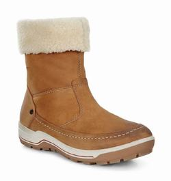 Womens ECCO Trace Winter Boots Brown Size ( US 4/4.5-12/12.5 ) 231NWEJG