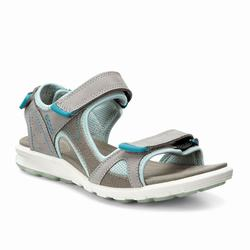 Womens ECCO Wmns Cruise Sport Sandals Shoes Grey / Flower Size ( US 4/4.5-12/12.5 ) 553OKNWU