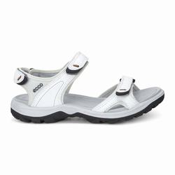 Womens ECCO Wmns Offroad Lite Sandals Shoes White / Grey / White Size ( US 4/4.5-12/12.5 ) 970FRECH