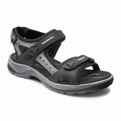 Womens ECCO Yucatan Sandals Shoes Black Size ( US 4/4.5-12/12.5 ) 804IOCBG